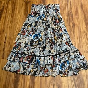 For Cynthia Dress or Skirt Floral Flowy